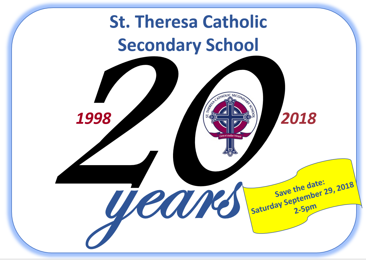 St. Theresa 20 years.PNG