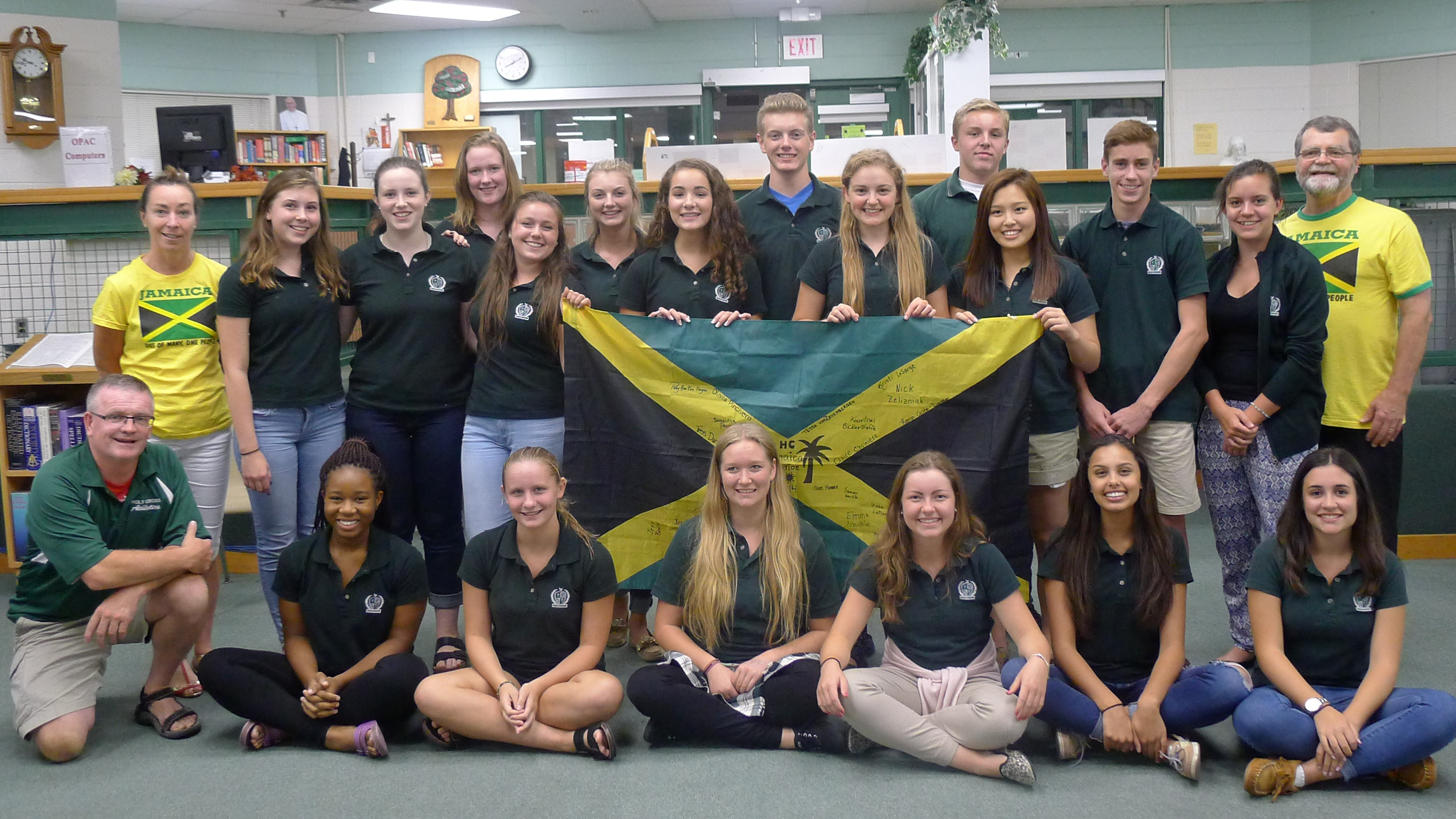 Holy Cross Jamaica Mission Team