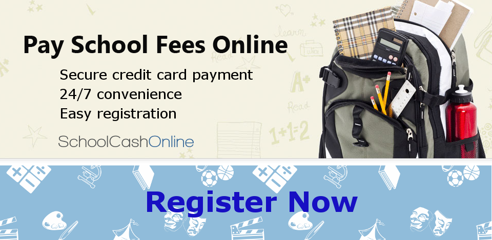 Register to pay for school items online!