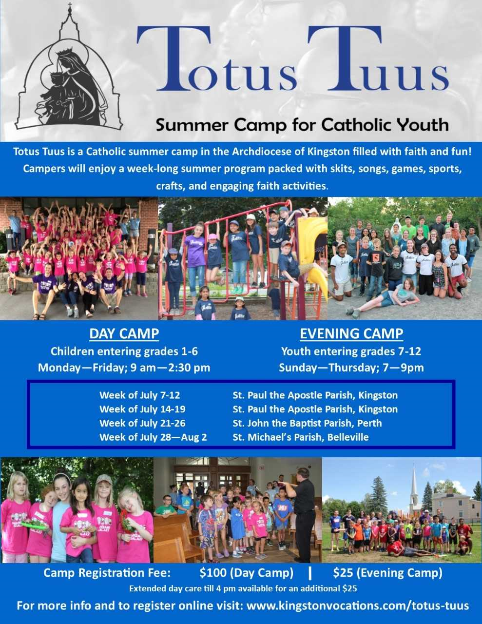Camp for Children & Youth @ St. Paul the Apostle