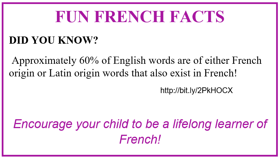 Fun French Fact