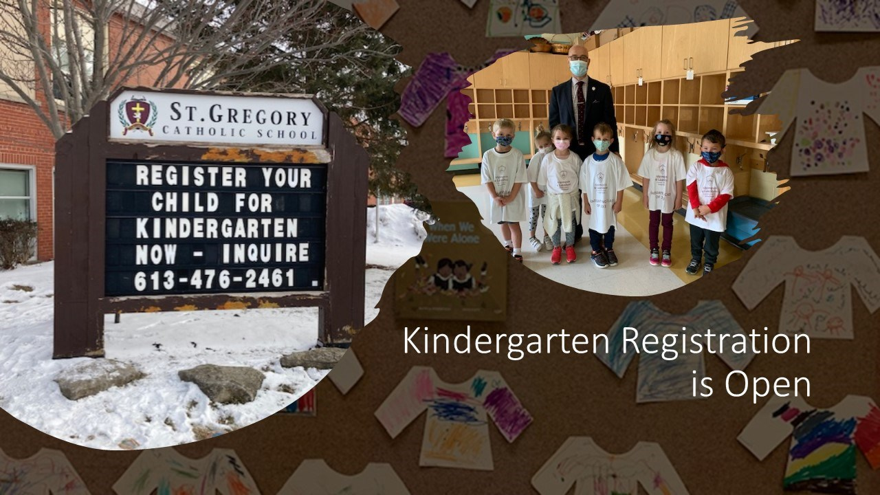 We Welcome Kindergarten and New Registrations for the 2021 - 2022 School Year