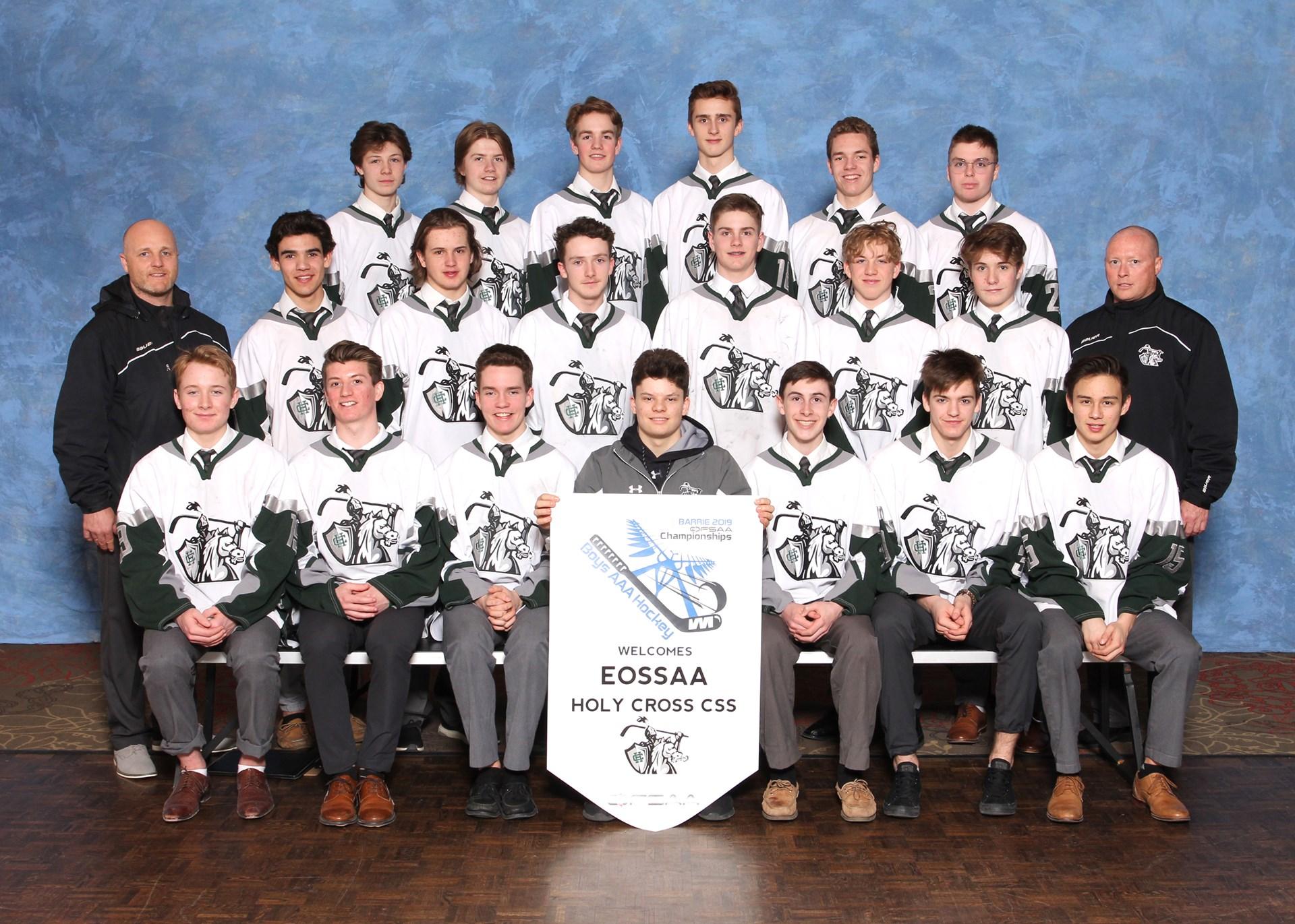 Boys Hockey - Holy Cross Catholic Secondary School