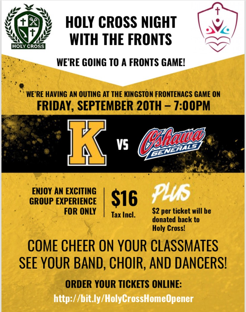 Holy Cross Night with the Fronts!