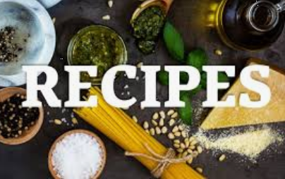 Ingredients for recipes