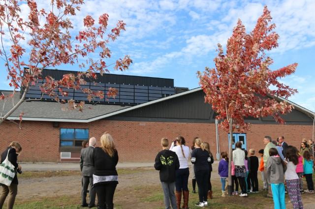 Platinum EcoSchools Visit by Sophie Kiwala and Ontario EcoSchools