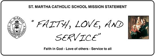 St. Martha Missison Statement