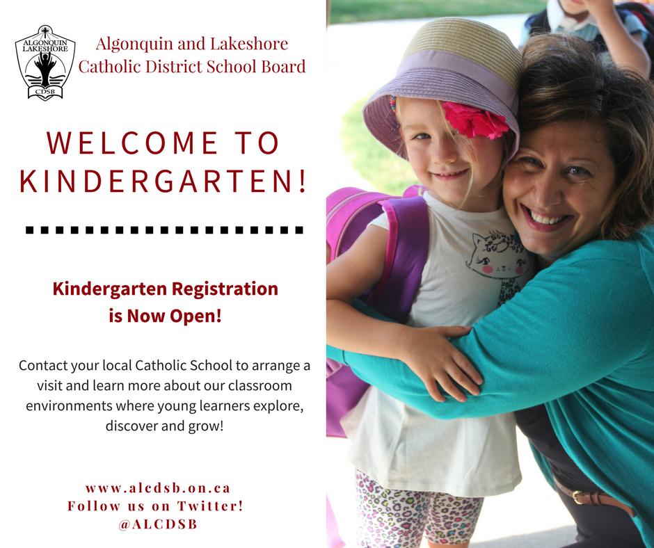Kindergarten Registration Begins for 2017-2018 School Year
