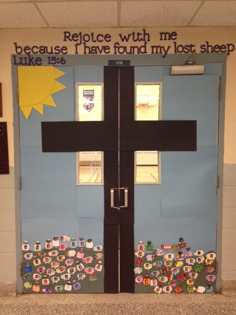 Holy Name of Mary School Doors of Mercy