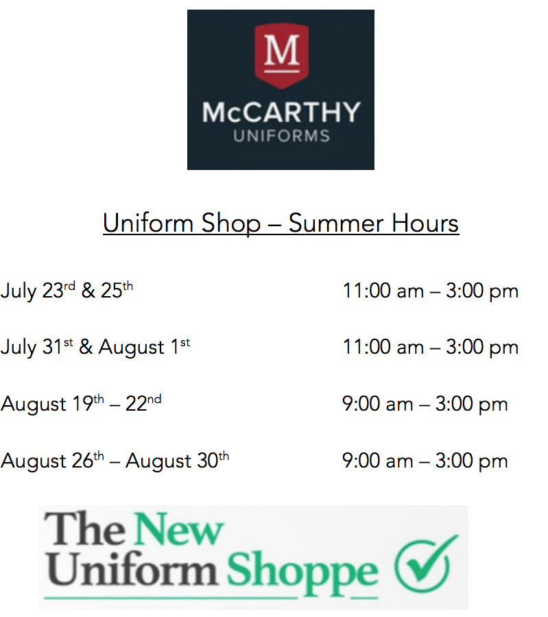 McCarthy Uniform Shop