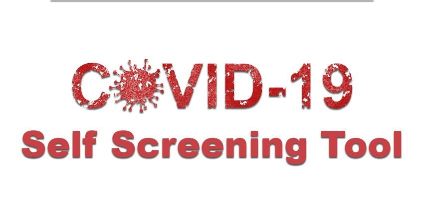 COVID-19 Self Screening Tool