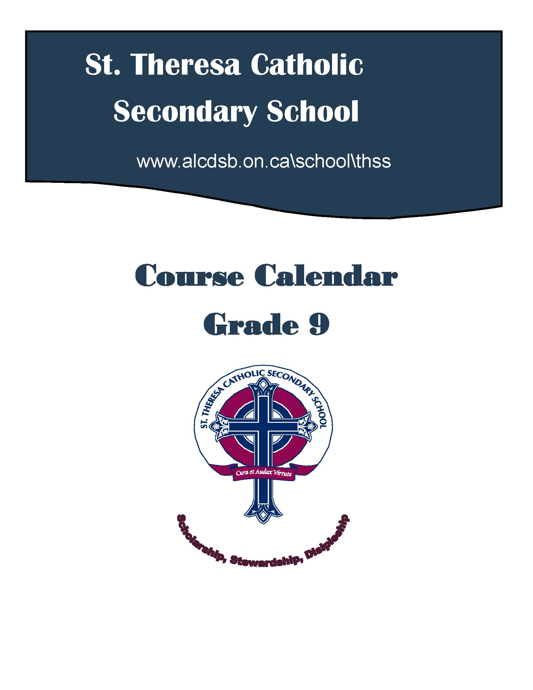Gr 9 Cover Page - course calendar.jpg