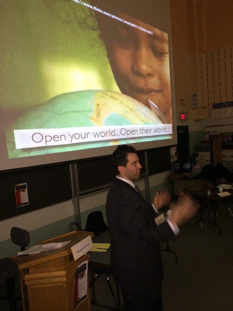 Presenter George Couros.