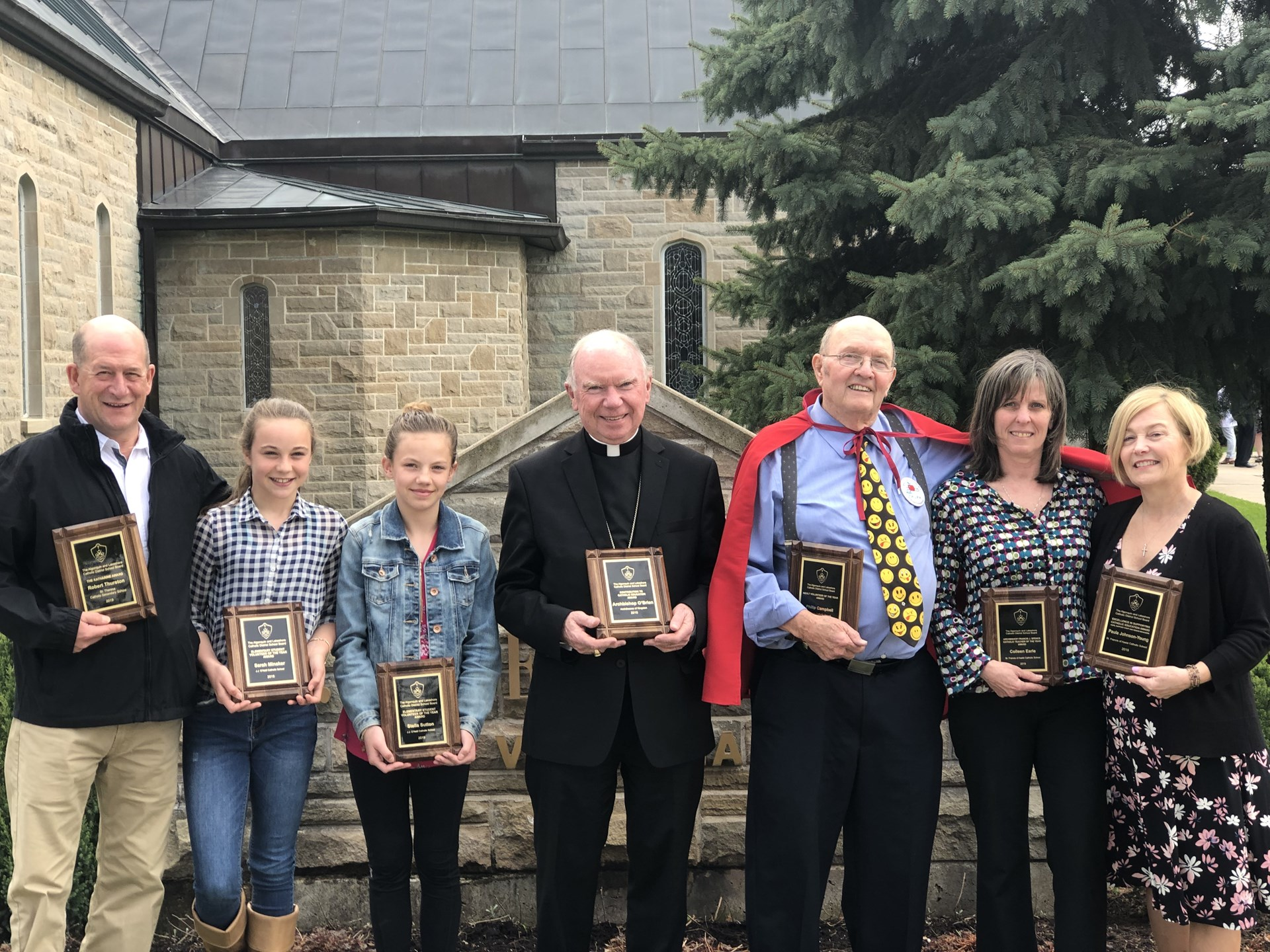 Catholic Education Week Award Recipients
