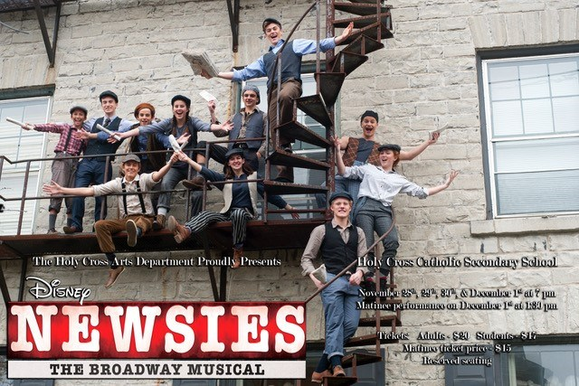 Holy Cross presents Newsies The Broadway Musical