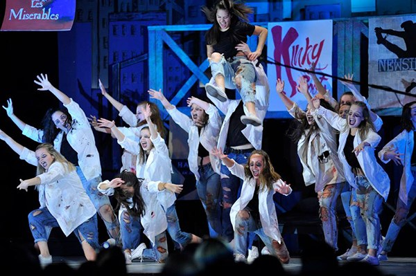 The Holy Cross Hip Hop Team perform at Cabaret.jpg