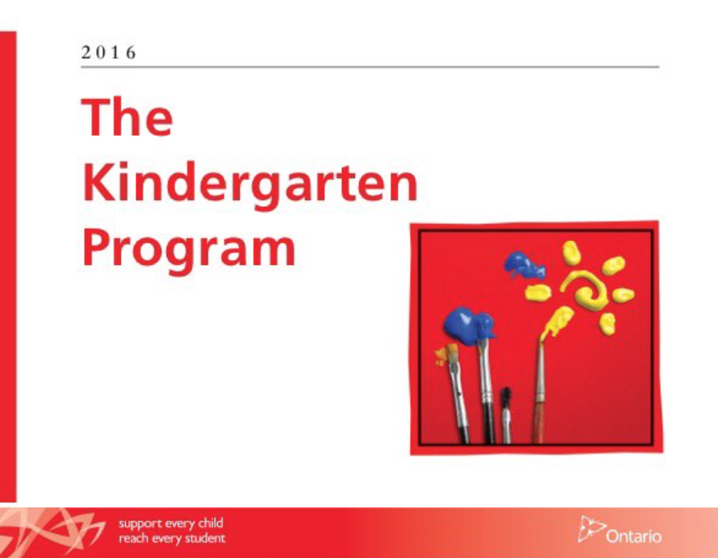 The Early Learning Kindergarten Program