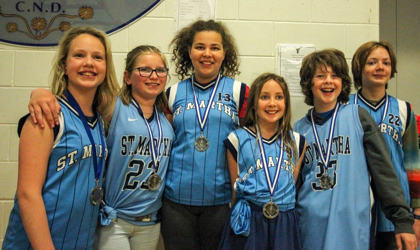 St. Martha Math team