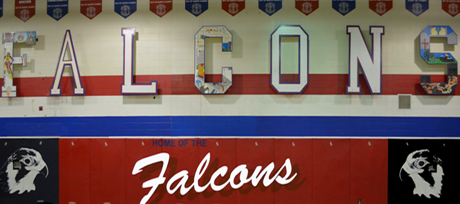 Home of the Falcons!