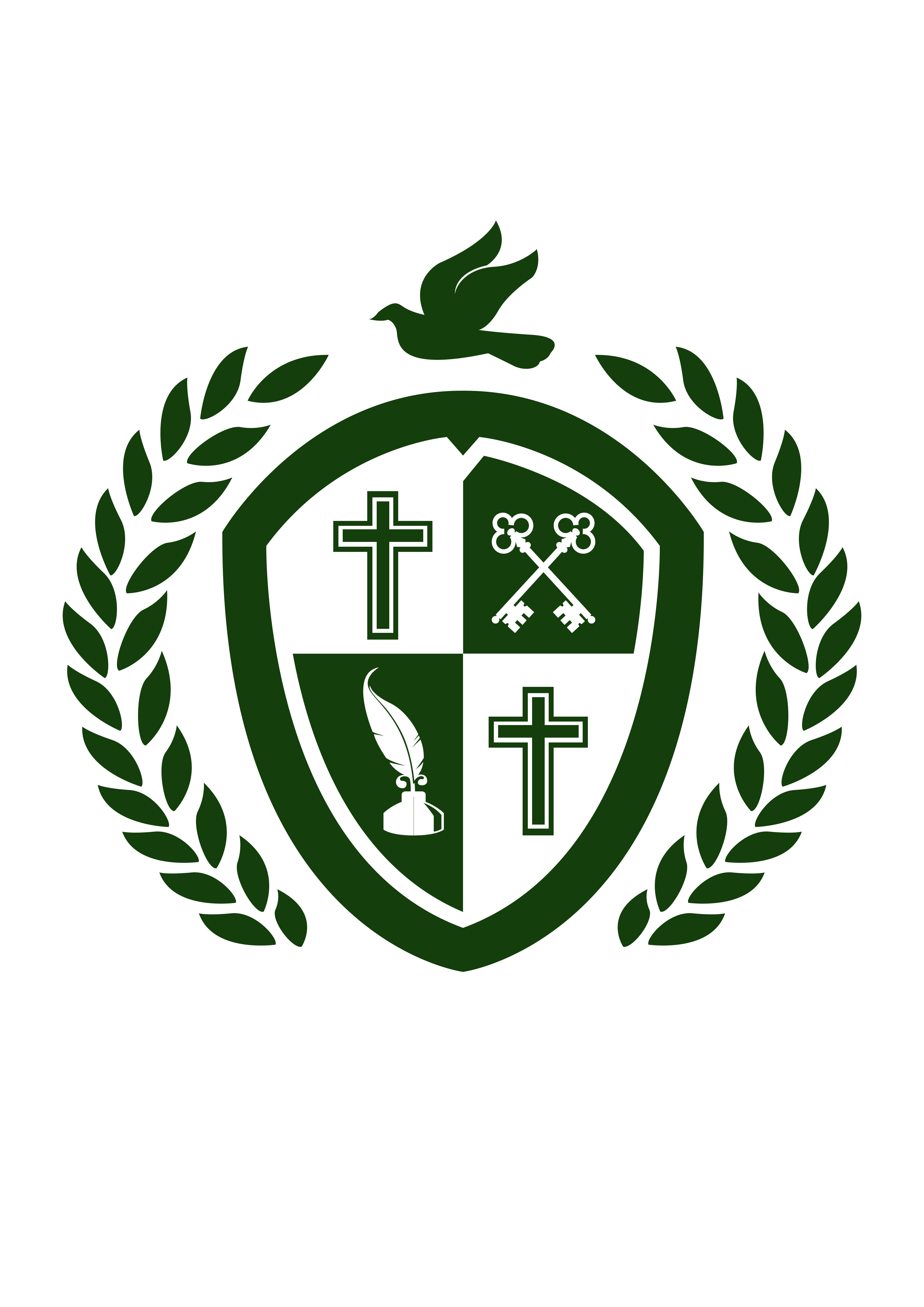 Holy Cross Catholic Secondary School logo