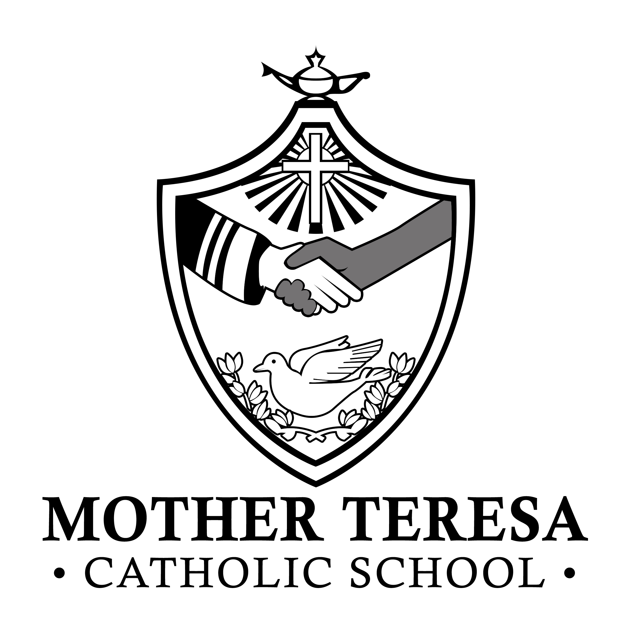 Mother Teresa Catholic School logo